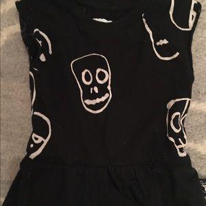 nununu Dresses - Nununu skull romper